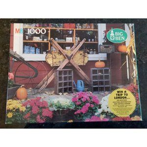 MB 1000 Piece Puzzle 50th Ann South Woodstock